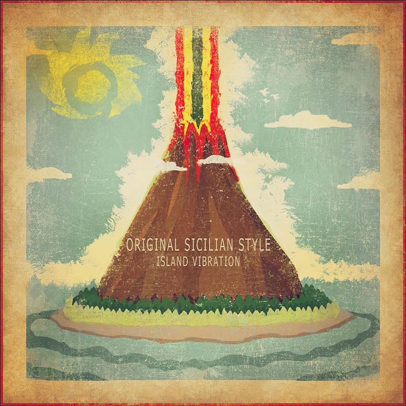 Copertina Album Island Vibration