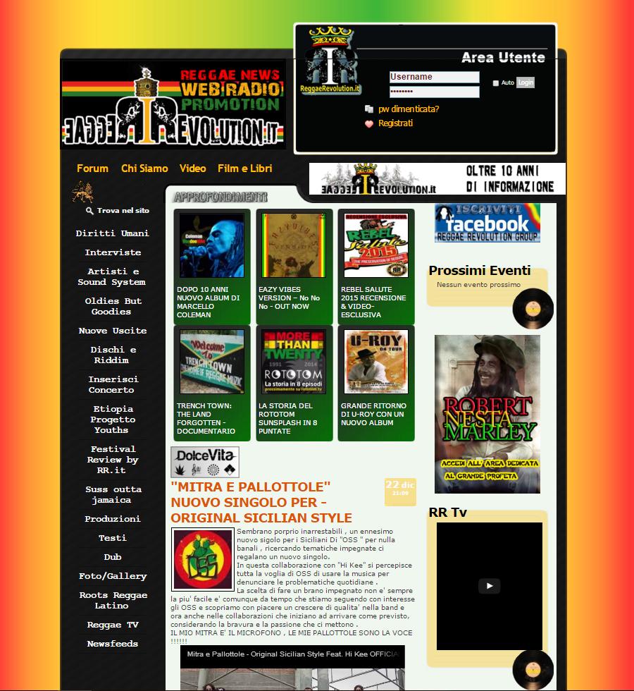 reggaerevolution